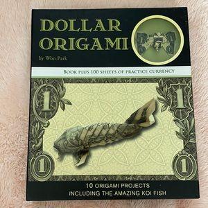Dollar origami book